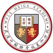 武汉外国语学校美加分校校徽logo图片