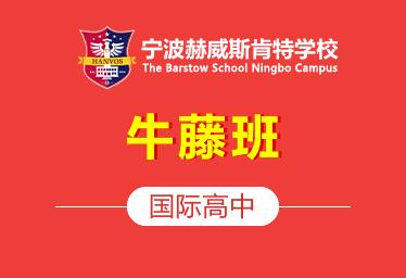 2021年宁波赫威斯肯特国际高中(牛藤班)图片