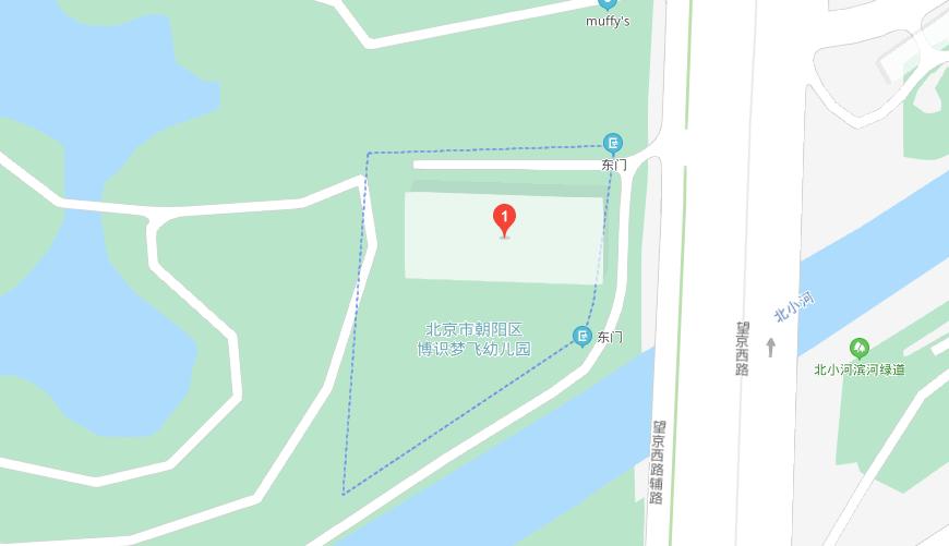 Muffy's博识梦飞幼儿园地图图片