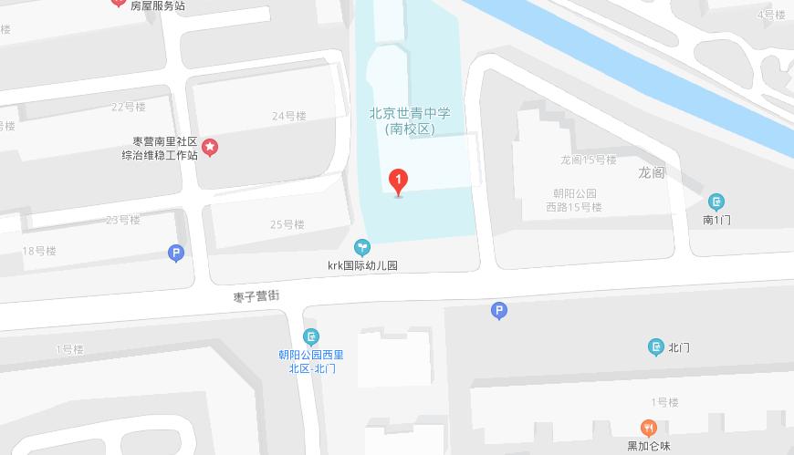 北京凯斯旗舰园地图图片