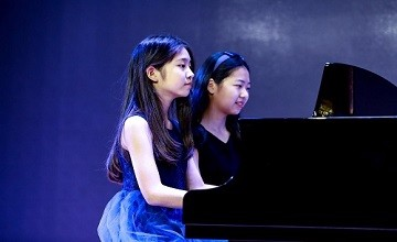 用钢琴写诗,从指尖吟唱——北京海淀凯文学校图片