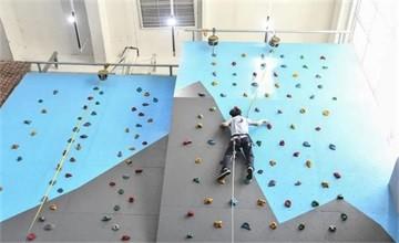 攀岩课-勇攀高峰 | 青岛威德明特双语学校特色课展示图片