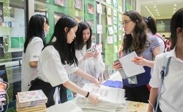 上海虹桥国际外籍人员子女学校中学部项目式学习成果展硕果累累!图片