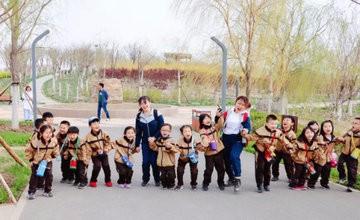 2019年天津英华国际学校东丽校区踏青远足励志行图片