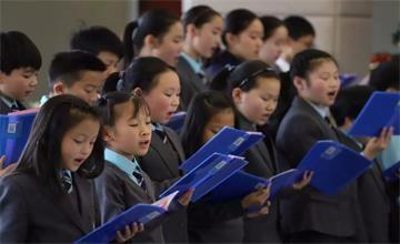 宁波奉化诺德安达学校冬季音乐会回顾:音乐是心灵的艺术图片