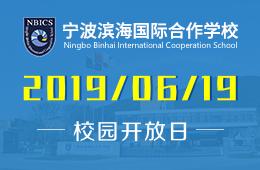 宁波滨海国际合作学校校园开放日预约报名中图片