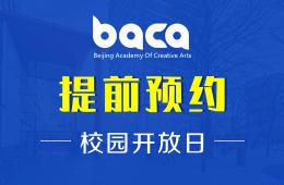 2020年BACA国际艺术教育中心校园开放日及工作坊日程安排图片