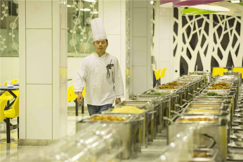北京私立汇佳学校餐厅图集