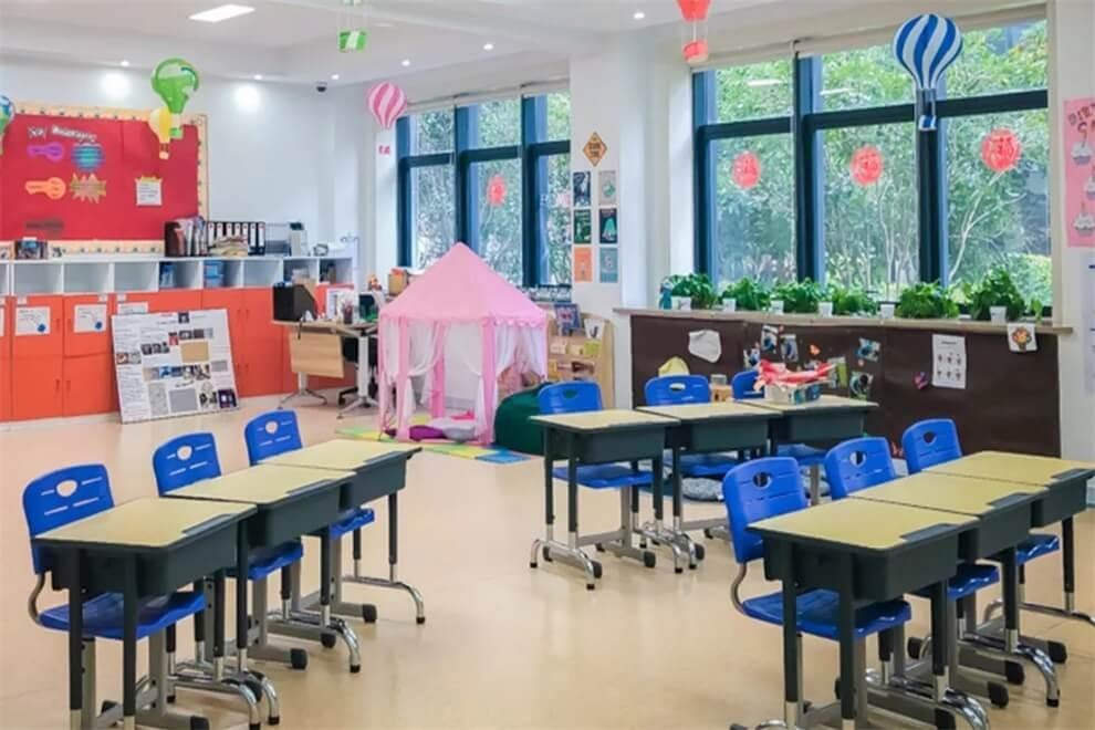 上海师大附二外室内环境图集