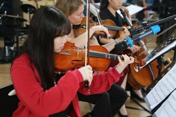 上海美高双语学校纽约爱乐乐团现场图集