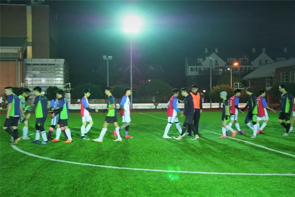 上海融育学校足球联谊活动图集