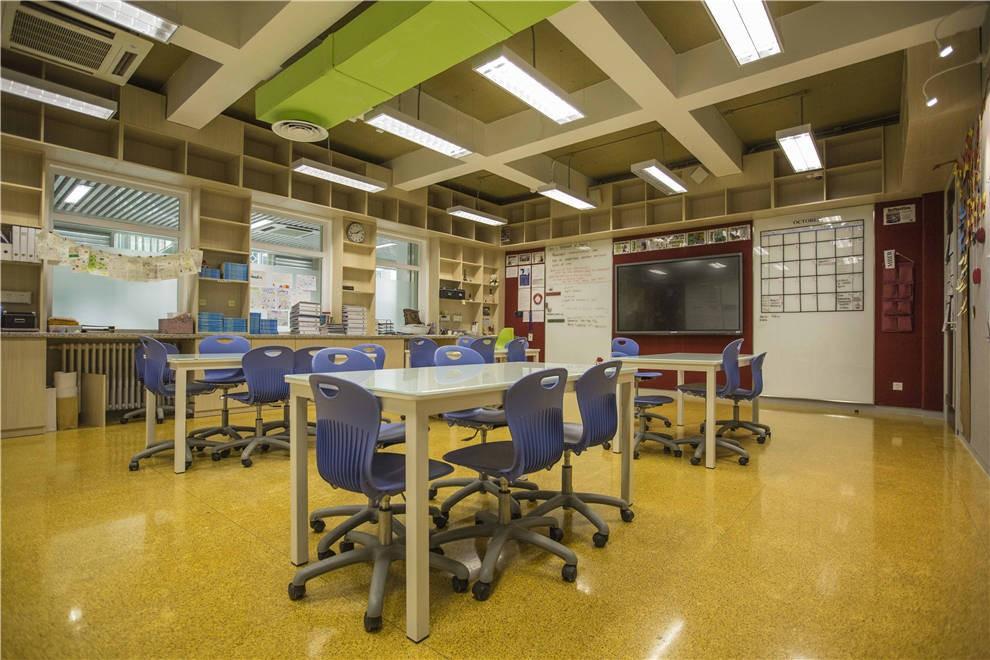 北京私立汇佳学校图书馆图集