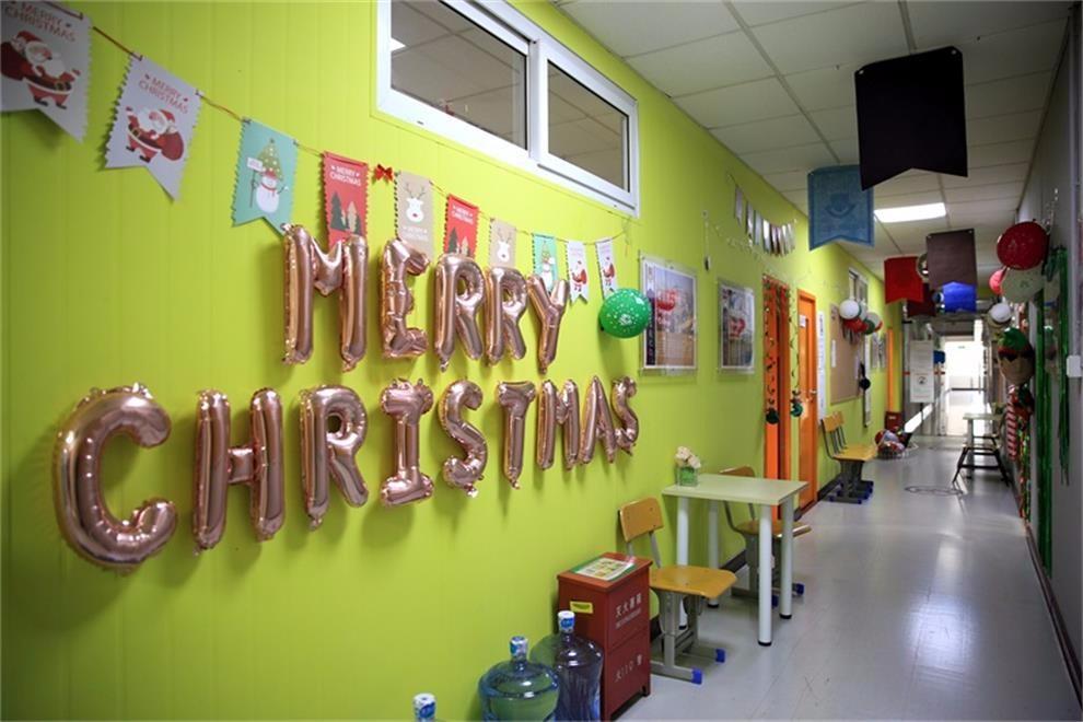 上外立泰A-Level国际课程中心圣诞装饰比赛活动图集