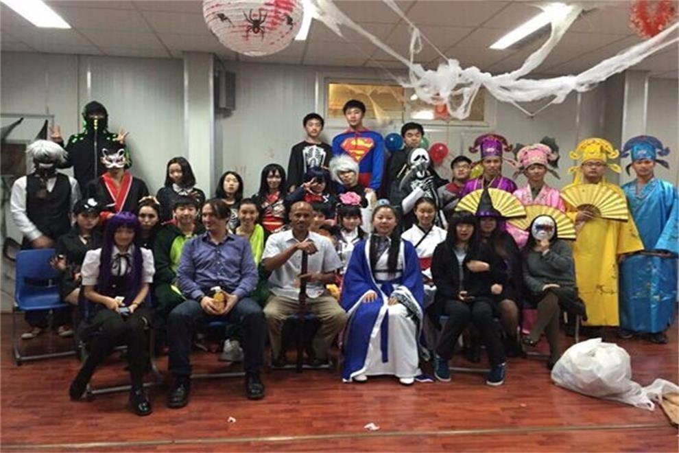 上外立泰A-Level国际课程中心万圣节活动图集