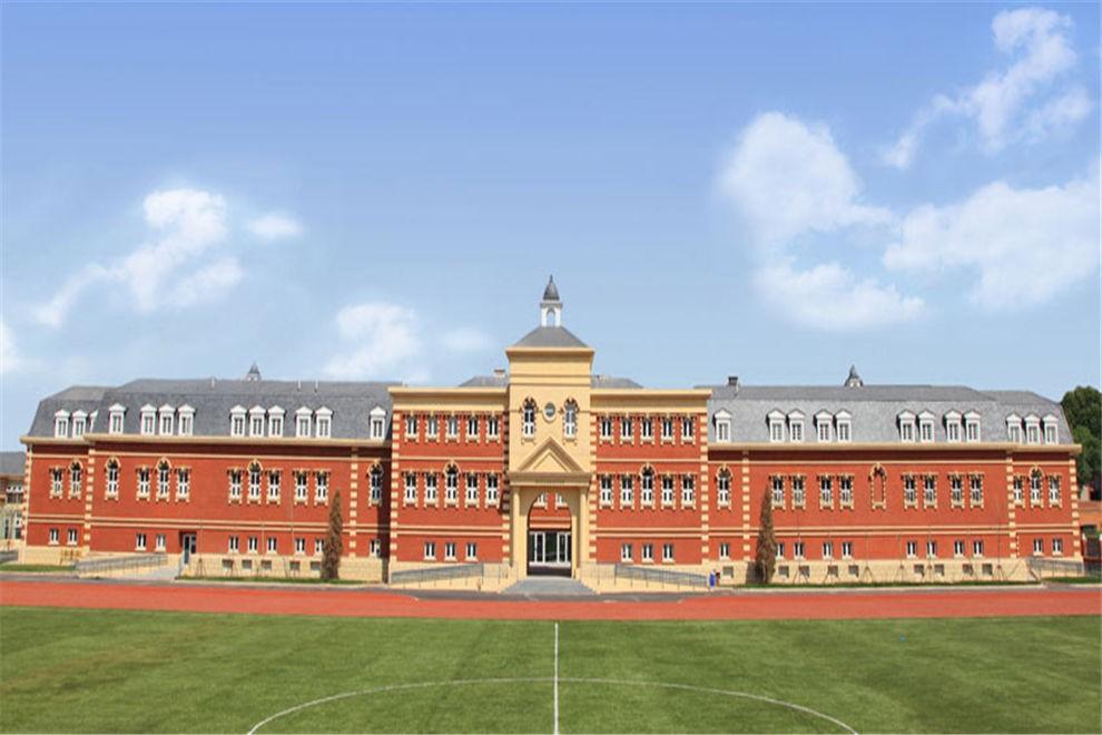 天津惠灵顿国际学校校园风景图集