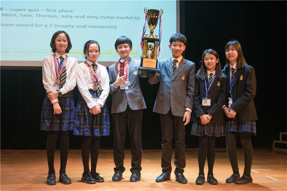 天津惠灵顿国际学校学子们在美国学术竞赛图集