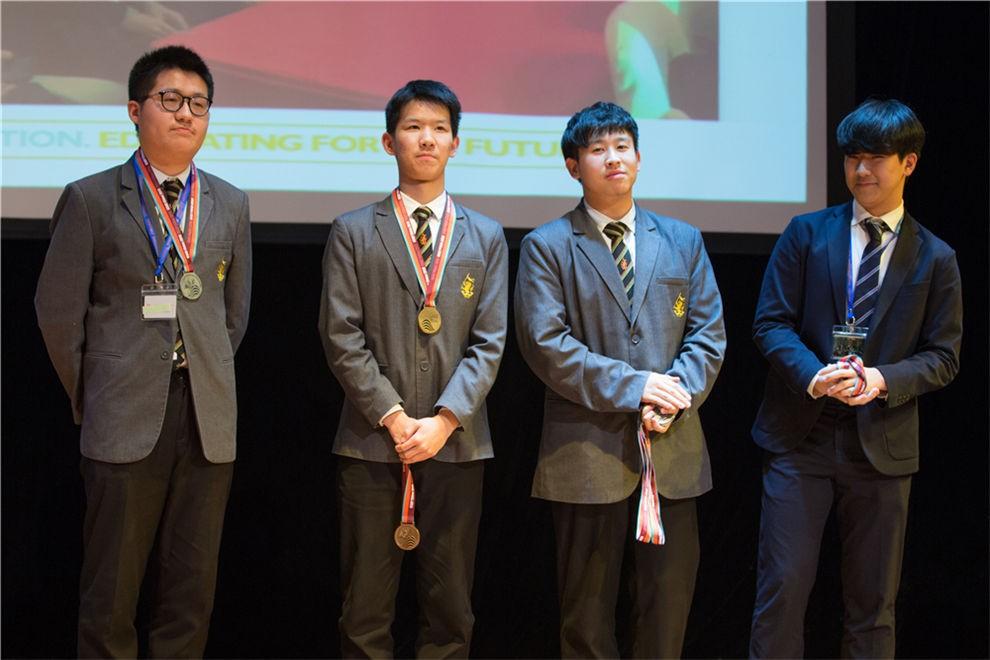 天津惠灵顿国际学校学子们在美国学术竞赛图片02