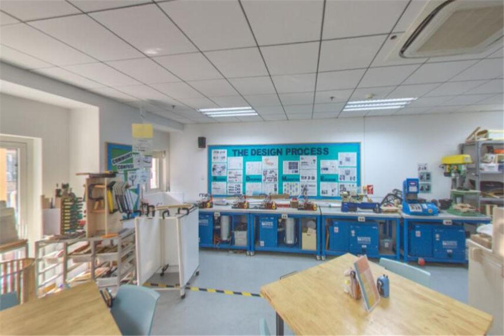 天津惠灵顿国际学校DT教室
