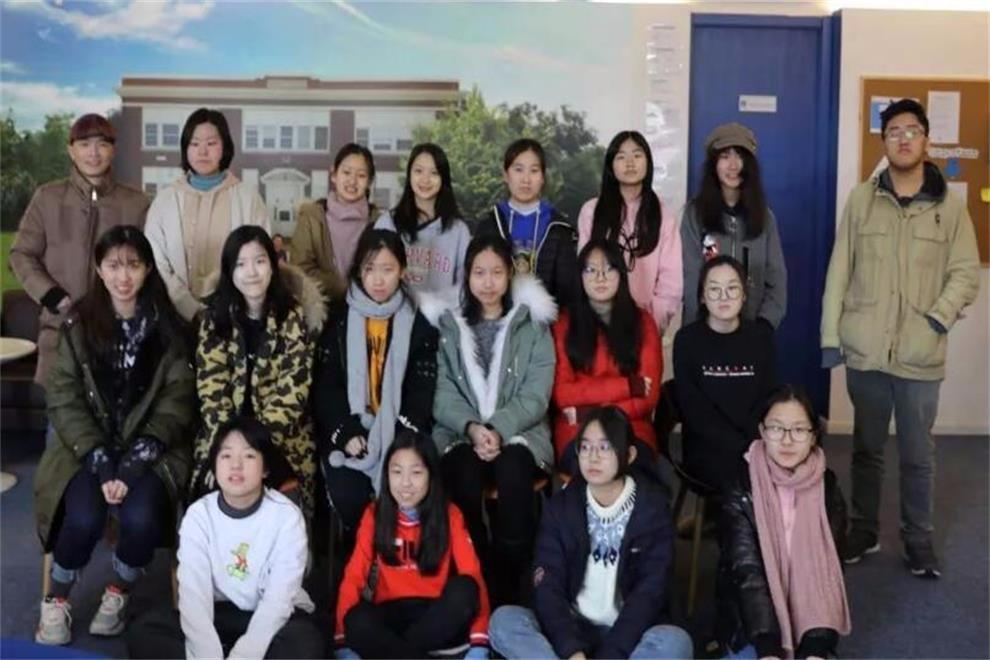 美国Lee Academy高级中学(上影校区)艺术冬令营活动图集