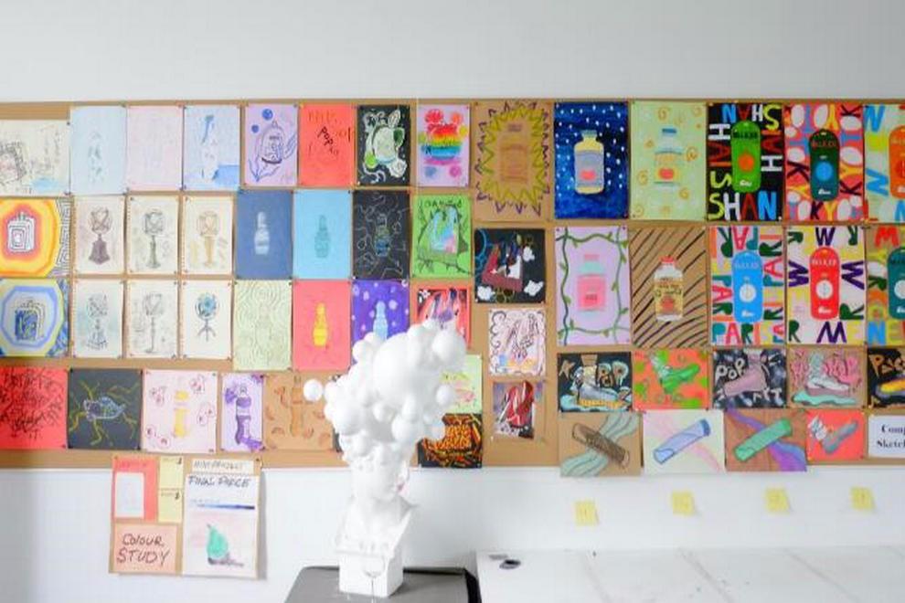 领科教育上海校区艺术教室环境图集