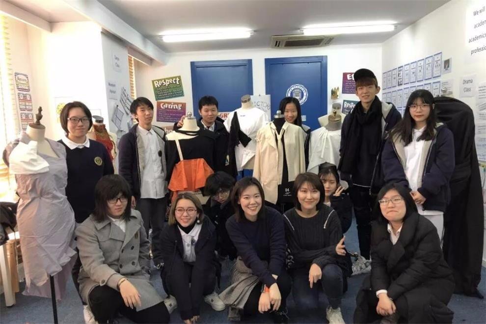 美国Lee Academy高级中学(上影校区)服装设计展活动图集