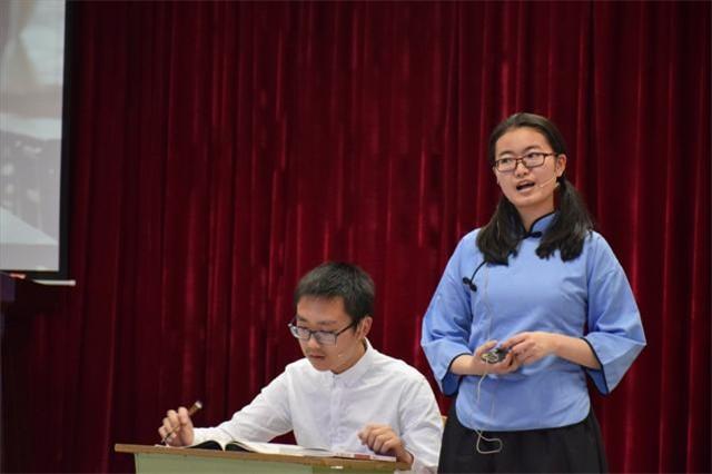 四川师范大学附属中学国际部2016艺术节话剧比赛