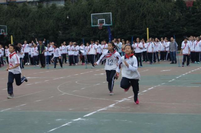 四川师范大学附属中学国际部体育节团体项目比赛图集