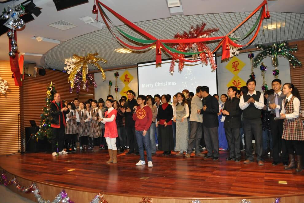 天津市新华中学国际部圣诞晚会图集