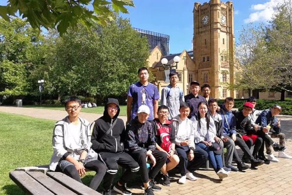 西安铁一中国际班师生赴澳大利亚进行海外课程学习活动图集