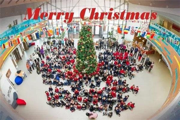 昆山加拿大国际学校圣诞之夜活动图集