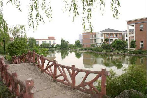 成都美视国际学校校园风景图集