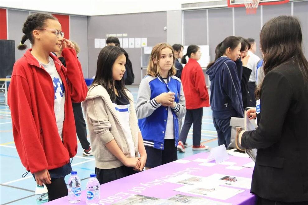 昆山加拿大国际学校大学展活动图集