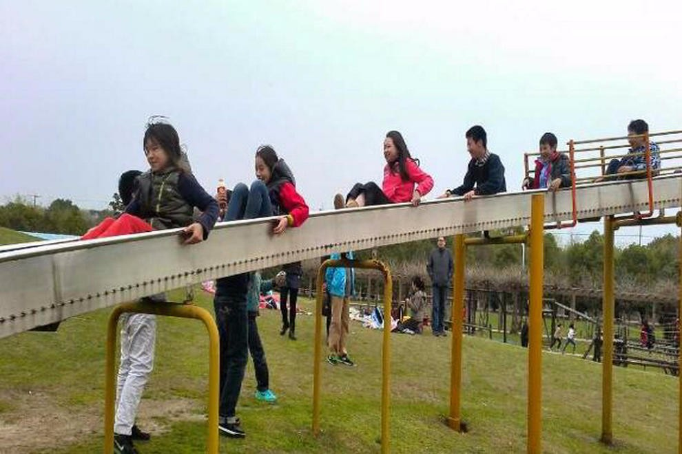 上海外国语大学西外外国语学校春游活动图集