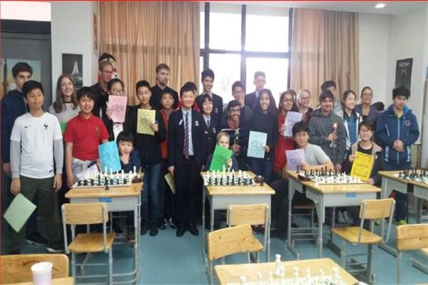 宁波国际学校国际象棋活动图集