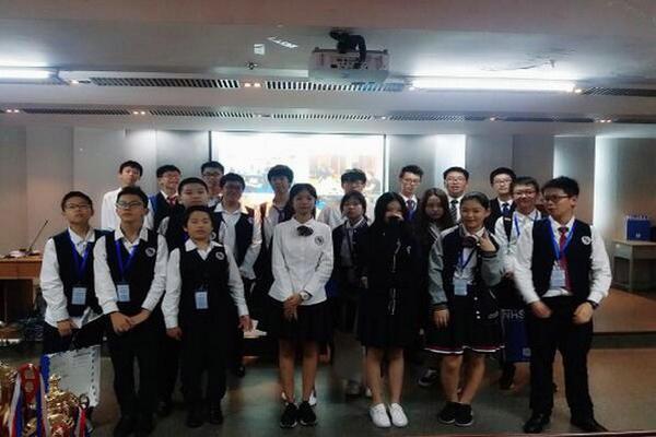 深圳博纳国际学校中国高中生美辩活动图集