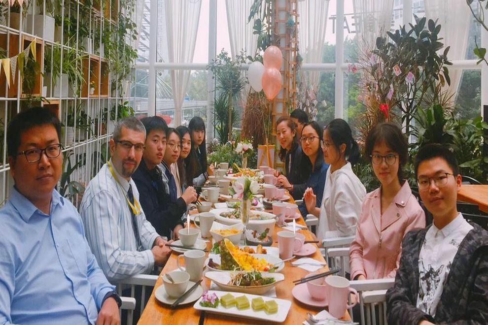 深圳博纳国际学校校长的荣誉午餐图集
