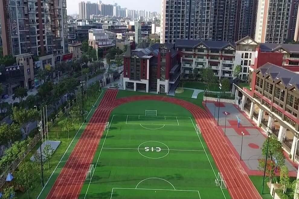 广州加拿大国际学校校园风采图集