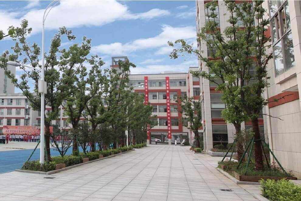连云港外国语学校国际部院校风景图集