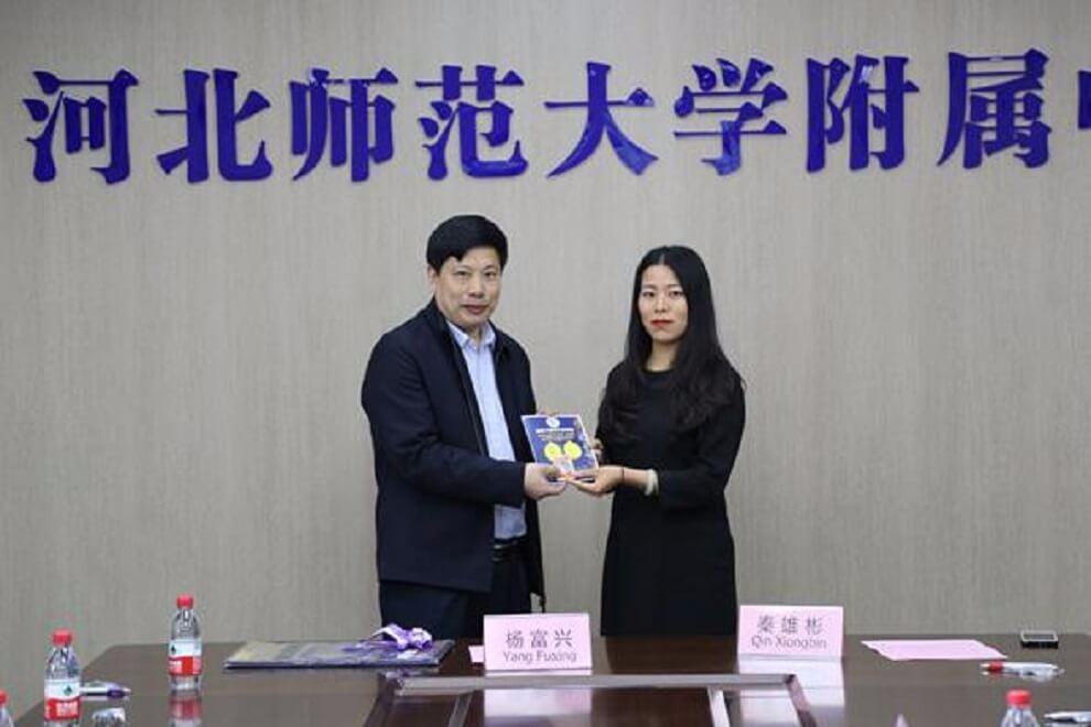 河北师范大学附属中学中加班泰国师生访问活动图集