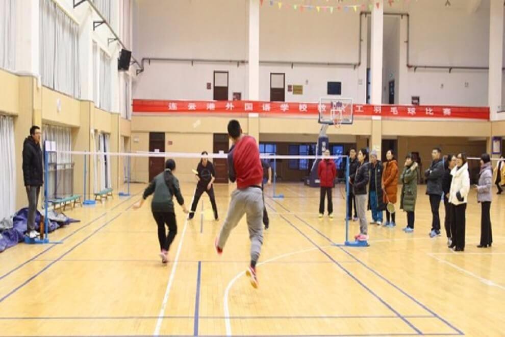 连云港外国语学校国际部羽毛球比赛活动图集