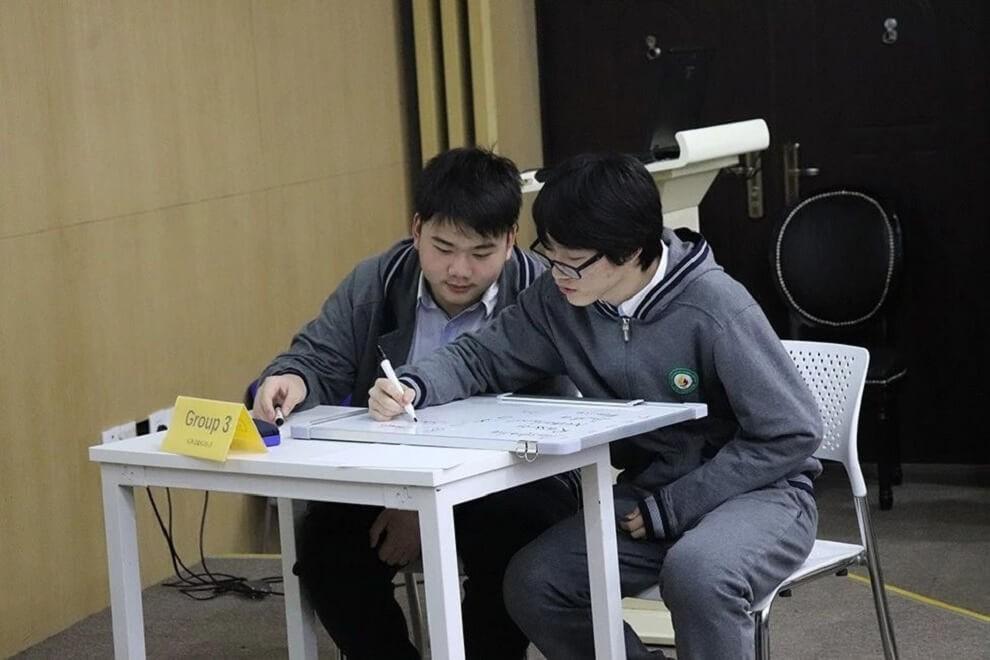 上海市燎原双语学校英文部高中Spelling Bee英文拼写大赛活动图集