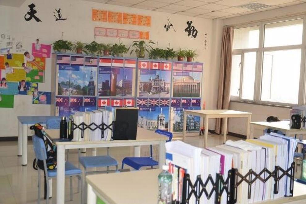 石家庄康福外国语学校教学设施图集