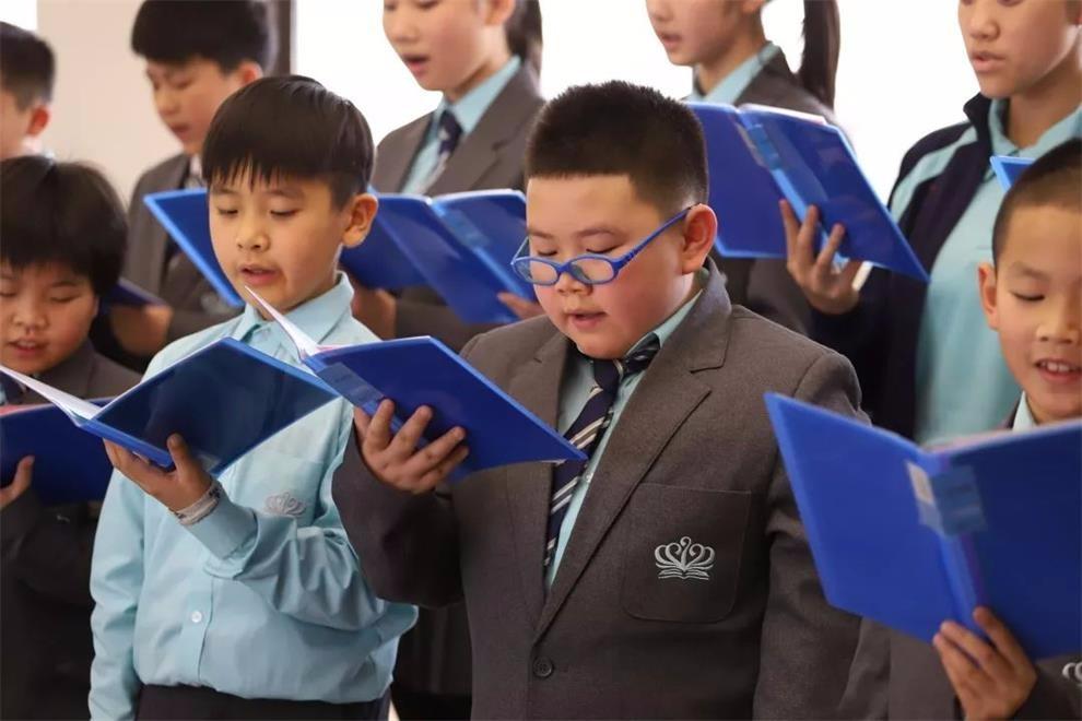 宁波市奉化区诺德安达学校冬季音乐会图集