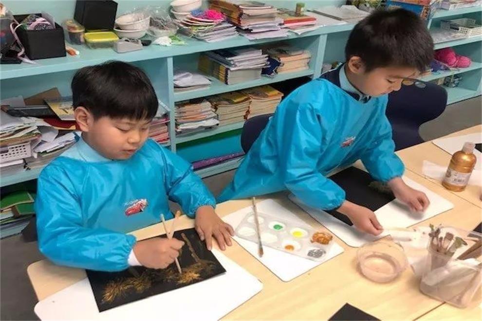 宁波市奉化区诺德安达学校庆春节活动图集