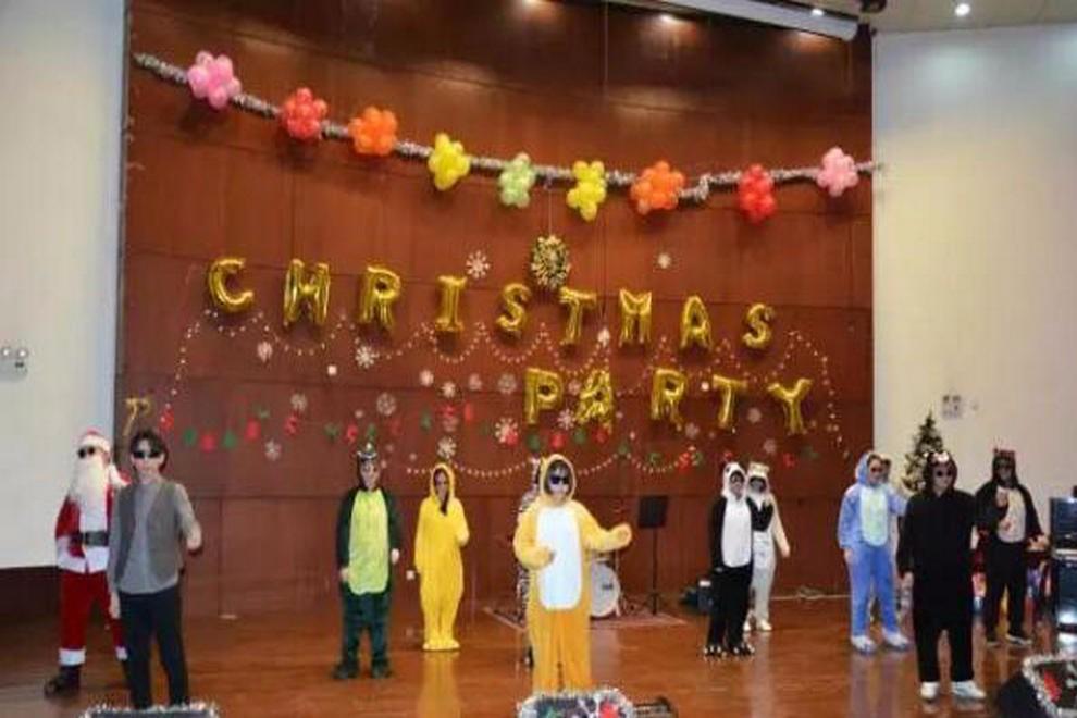 陕西省西安中学国际部圣诞晚会图集