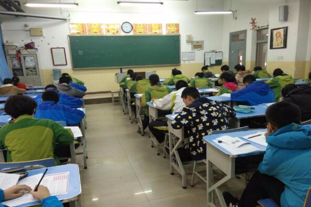 陕西省西安中学国际部数学大联盟杯赛活动图集