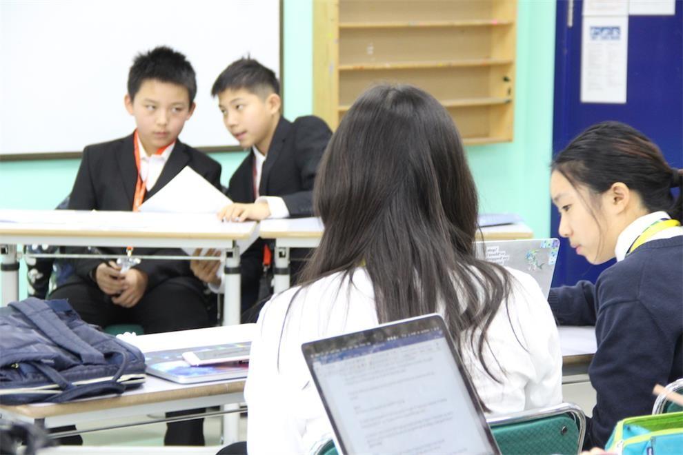 北京世青国际学校英文演讲与辩论赛图集