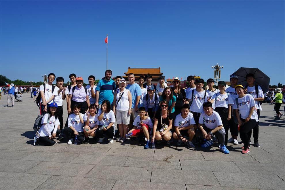 北京新桥外国语高中学校参观活动图集
