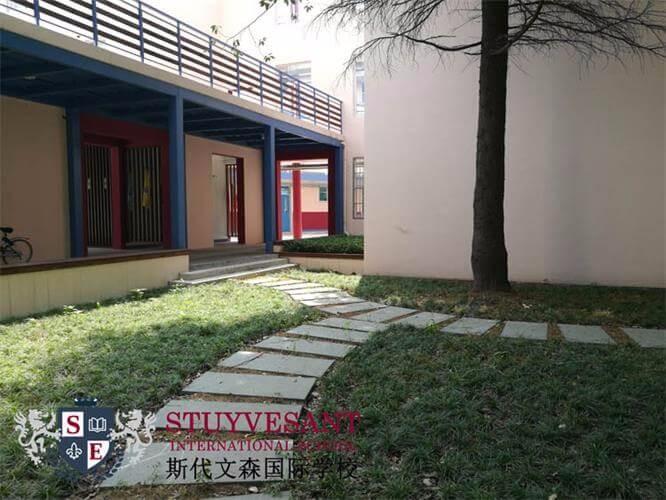 上海斯代文森国际学校学校道路图集