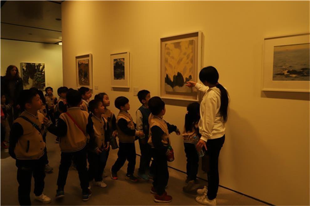 北京市新英才学校参观中央美术学院活动图集